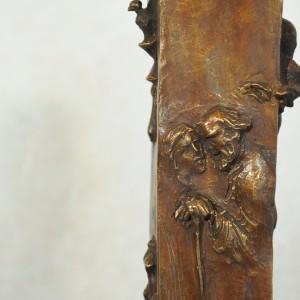 Età dell'uomo - Scultura in bronzo realizzata dal maestro Alessandro Romano