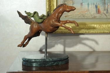 Cavallo - Scultura in bronzo realizzata dal maestro Alessandro Romano